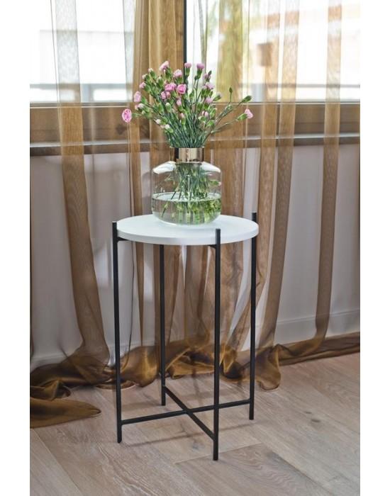 YASMINE -okrągły stolik pomocniczy