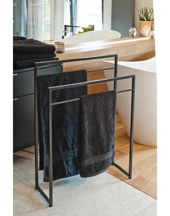DOROTHY - czarny wieszak na ręczniki