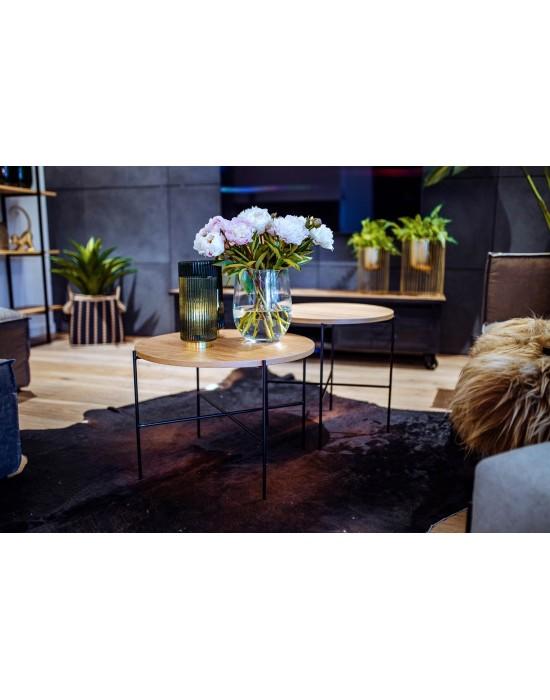 MEGAN - komplet okrągłych stolików