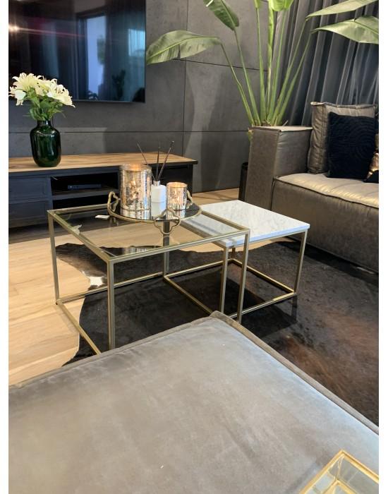 BONITA GOLD- komplet stolików