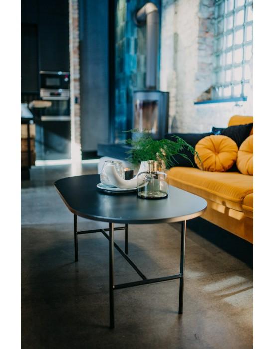 NINA - stolik w kształcie elipsy