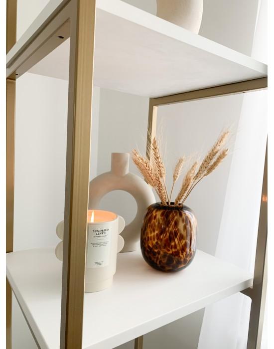 SAFARI - Mały wazon w panterkę